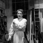 Marie Cooper Actor in the dressing room, getting read to go on stage