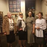 Marie Cooper Actor with the female members of cast for Someone Waiting