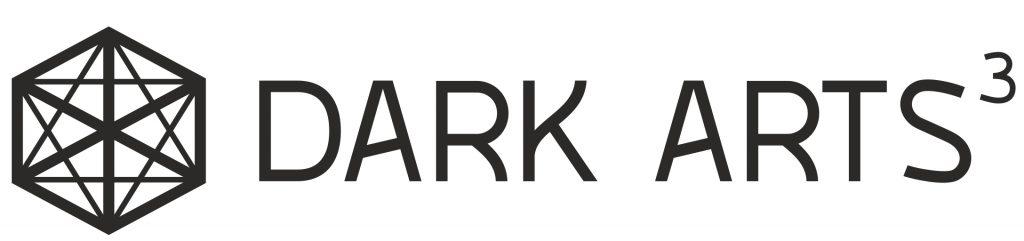 Dark Arts Cubed Logo black