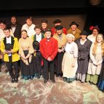 Photograph of Marie Cooper Actor with the cast of Candleford at Sewell Barn Theatre