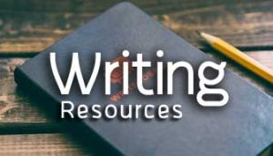 Writing Resources Button