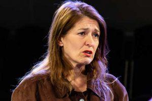 Marie Cooper playing Ann Wingate in Murder in Neighbourhood Watch. Ann loves her husband